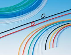 Polyurethane Metric Tubing 2.5 mm ID Blue 20 m Length 4 mm OD